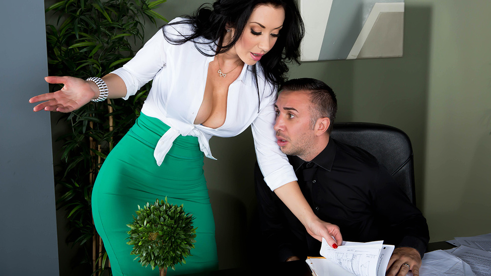 Jayden Jaymes in Another Hard Cock at the Office