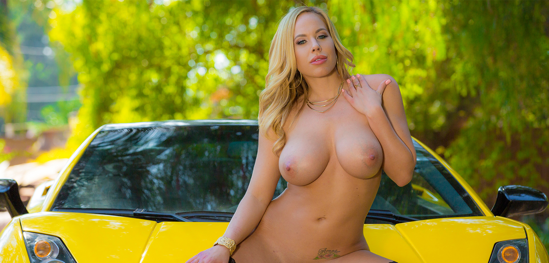 Olivia Austin in Mellow Yellow