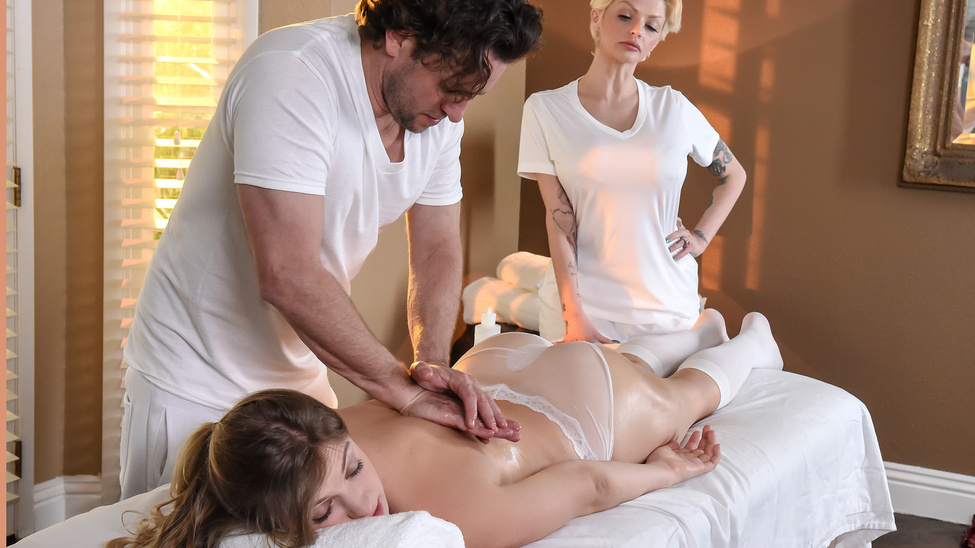 Giselle Palmer in Rub The Bosss Daughter