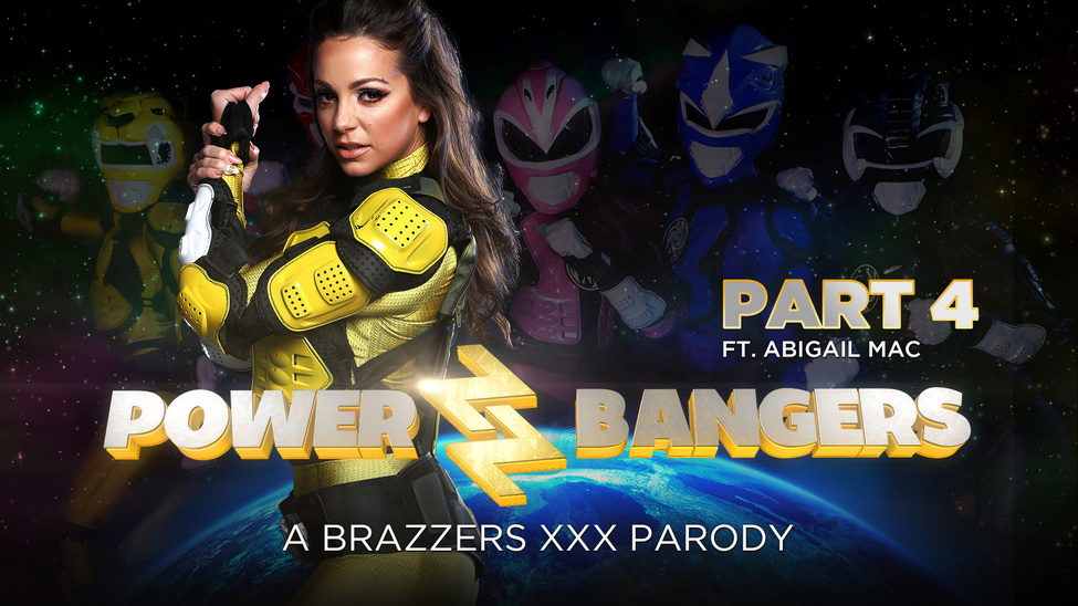 Abigail Mac in Power Bangers: A XXX Parody Part 4