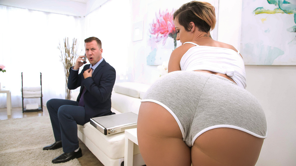Jada Stevens in Taking Care Of Businessman