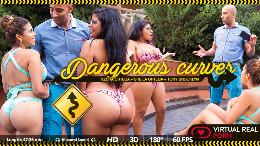 Kesha Ortega and Sheila Ortega in Dangerous curves