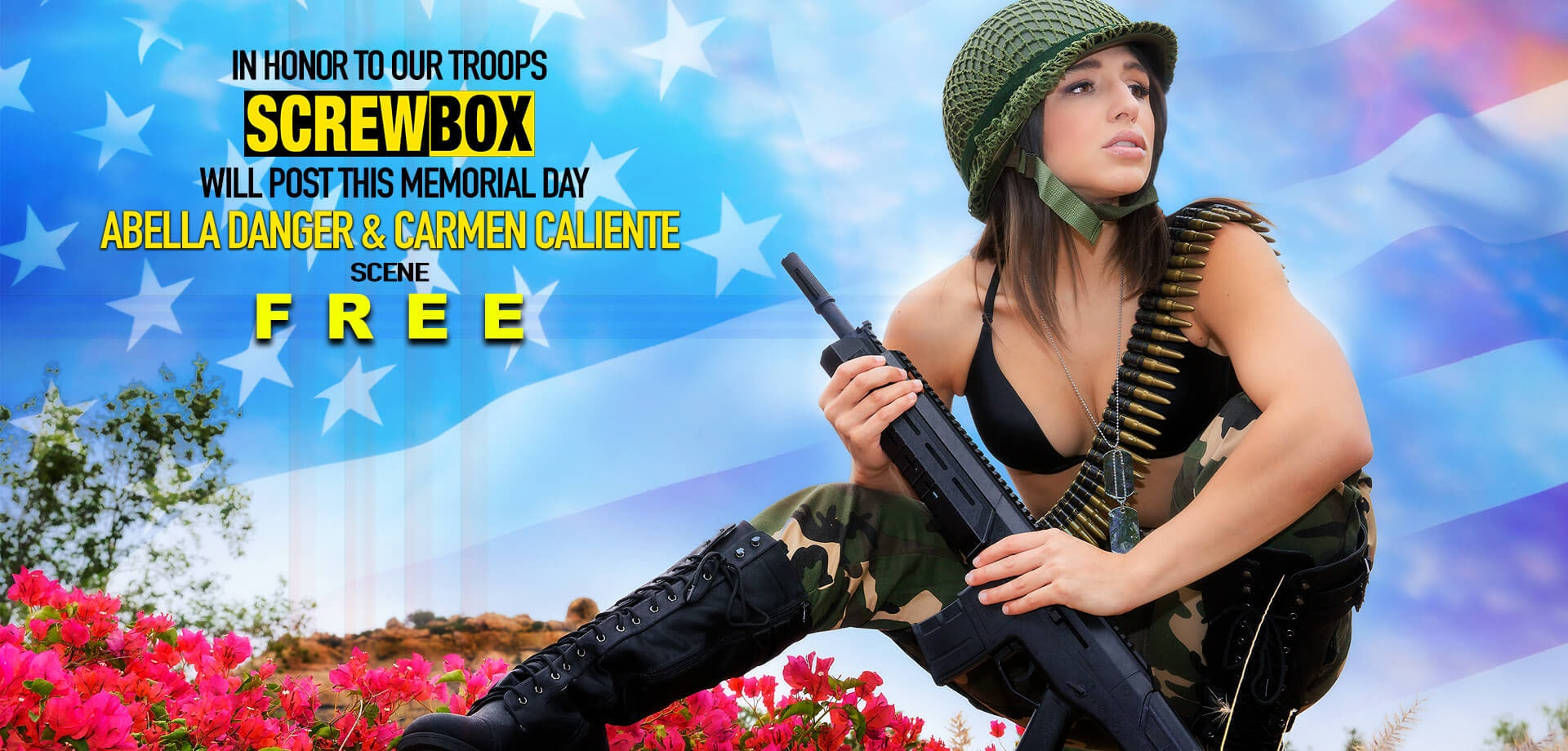 Abella Danger and Carmen Caliente in Memorial Day Special