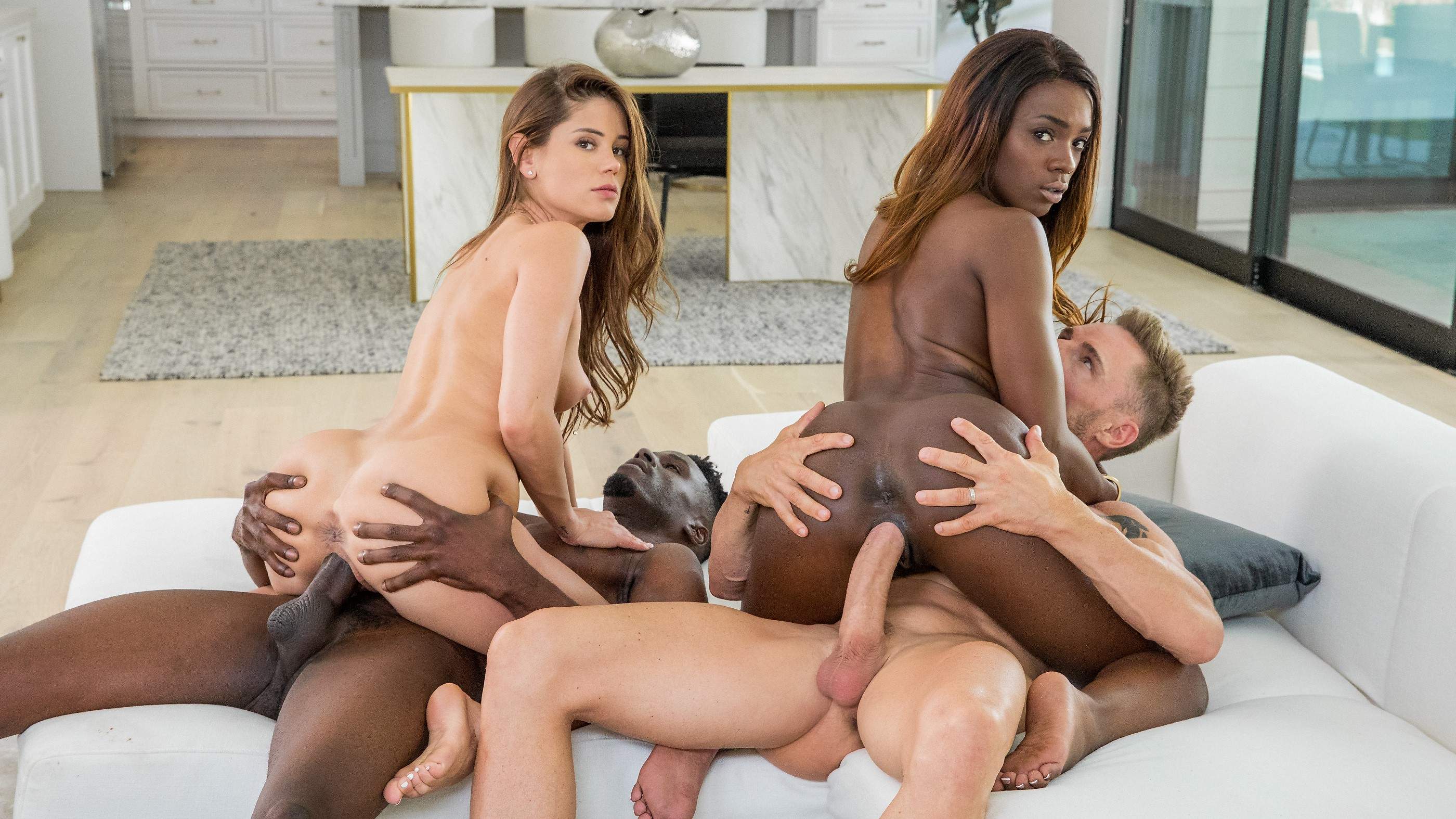 Caprice and Ana Foxxx in A Long Time Coming