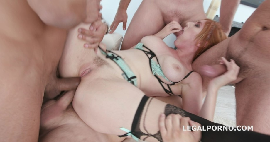Blackened with Lauren Phillips 4BWC + 4BBC equals double action with balls deep anal, big gapes, DAP, swallow GIO829