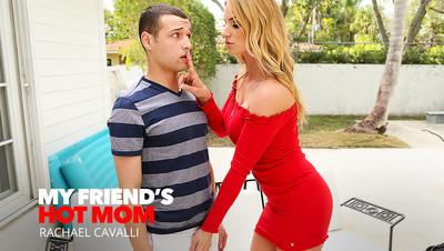 Rachael Cavalli shows her son's friend how to fuck like an adult