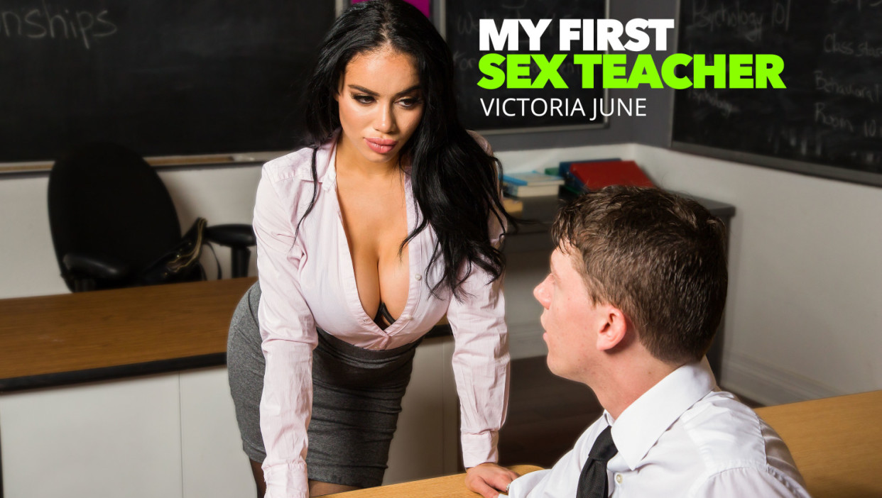 Victoria June in Victoria June Teaches College Student How To Properly Fuck