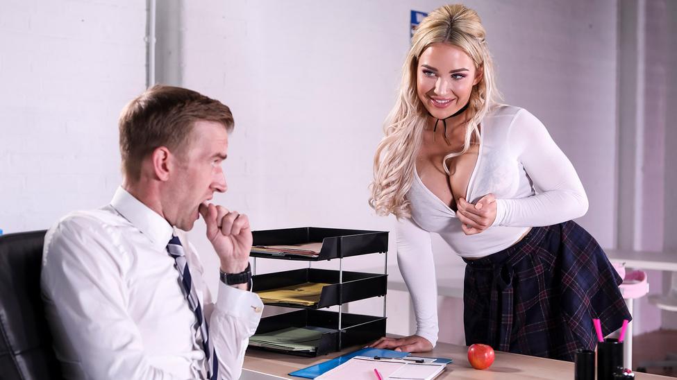 Amber Jade in Teacher's Pet